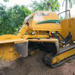 Remote Stump Grinder & Trailer 50mm Tow Ball for Hire
