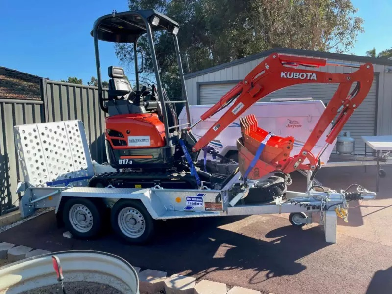 1.7 Tonne Mini-Excavator Hire - Bickley, Kalamunda, Gooseberry Hill, Forrestfield, Orange Grove, Carmel, Pickering Brook, Kenwick, Maddington, Mundaring, Mt Helena