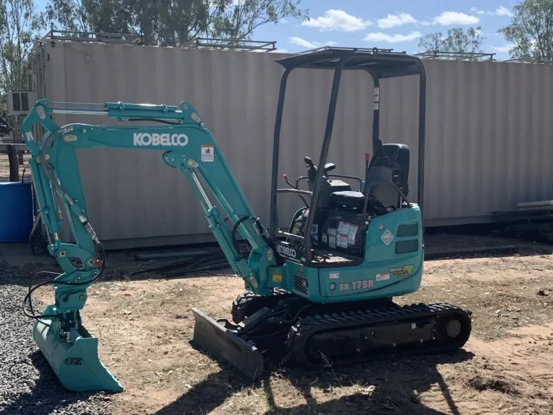 1.7t excavator with plant trailer and attachments for Dry Hire - Helidon Spa QLD