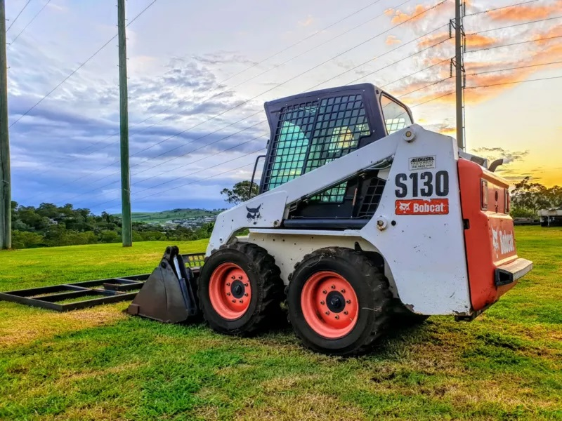 Bobcat S130 Skid Steer Loader with Attachments for dry hire - Toowoomba