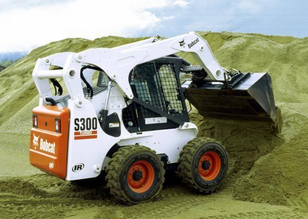 Hire Bobcat 3.8 tonne skid steer loader - 4 in1 bucket