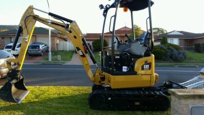 Hire Mini CAT 301.7D CR Excavator
