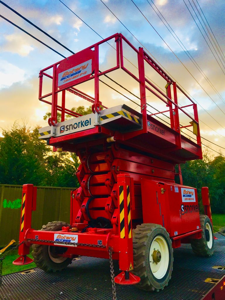 Hire Scissor lifts from 19ft to 60ft Call For a Quote - 02 9666 3745