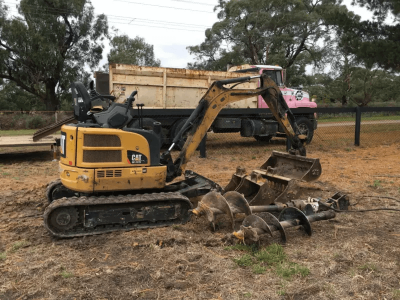 Hire Tip Truck, Loader and Excavator - Combo