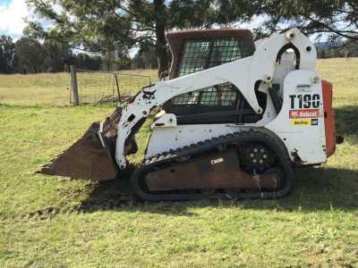 Hire 3.5t Bobcat T190 Loader (Skid-steer, Posi-track)