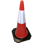 Hire 100 cm Safety Cones, Traffic Management