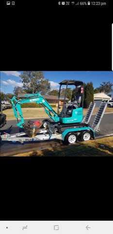 Hire Excavator 1.7T