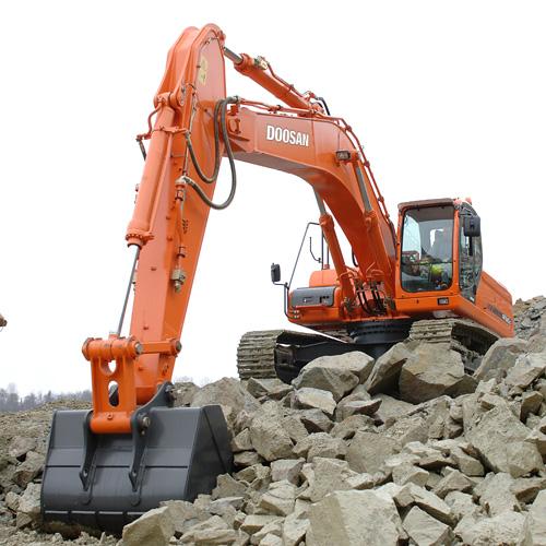 Hire DX340LC Excavator