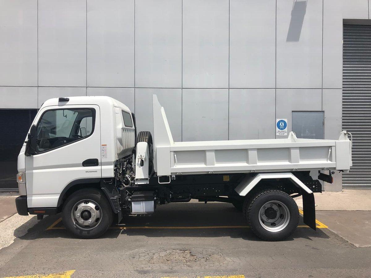 Hire Mitsubishi Canter Tipper Truck (3.5T)