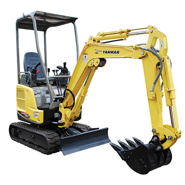 Hire 2.7T Excavator and Tipper Truck Combo
