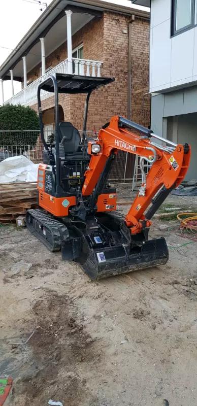 Hire Hitachi 1.8 tonne Excavator