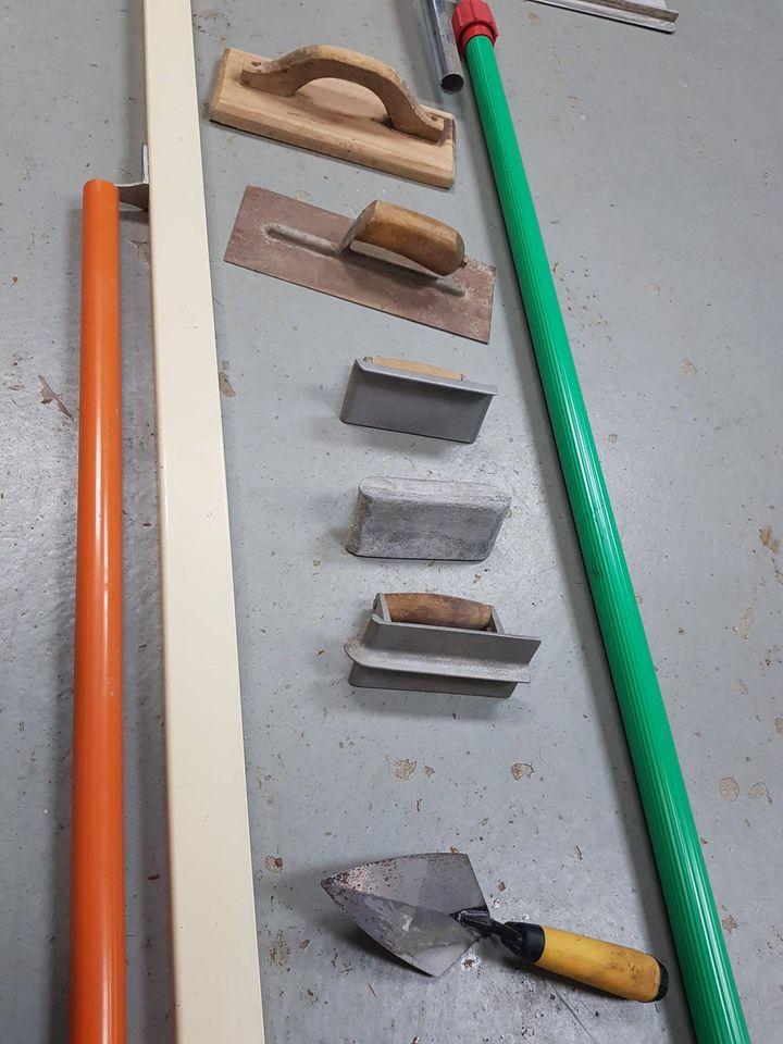 Hire Bull Float & Concreting Tool Kit