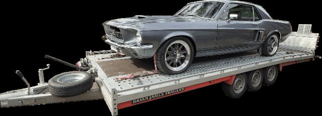 Hire 3.5 tonne hauler - Car Trailer