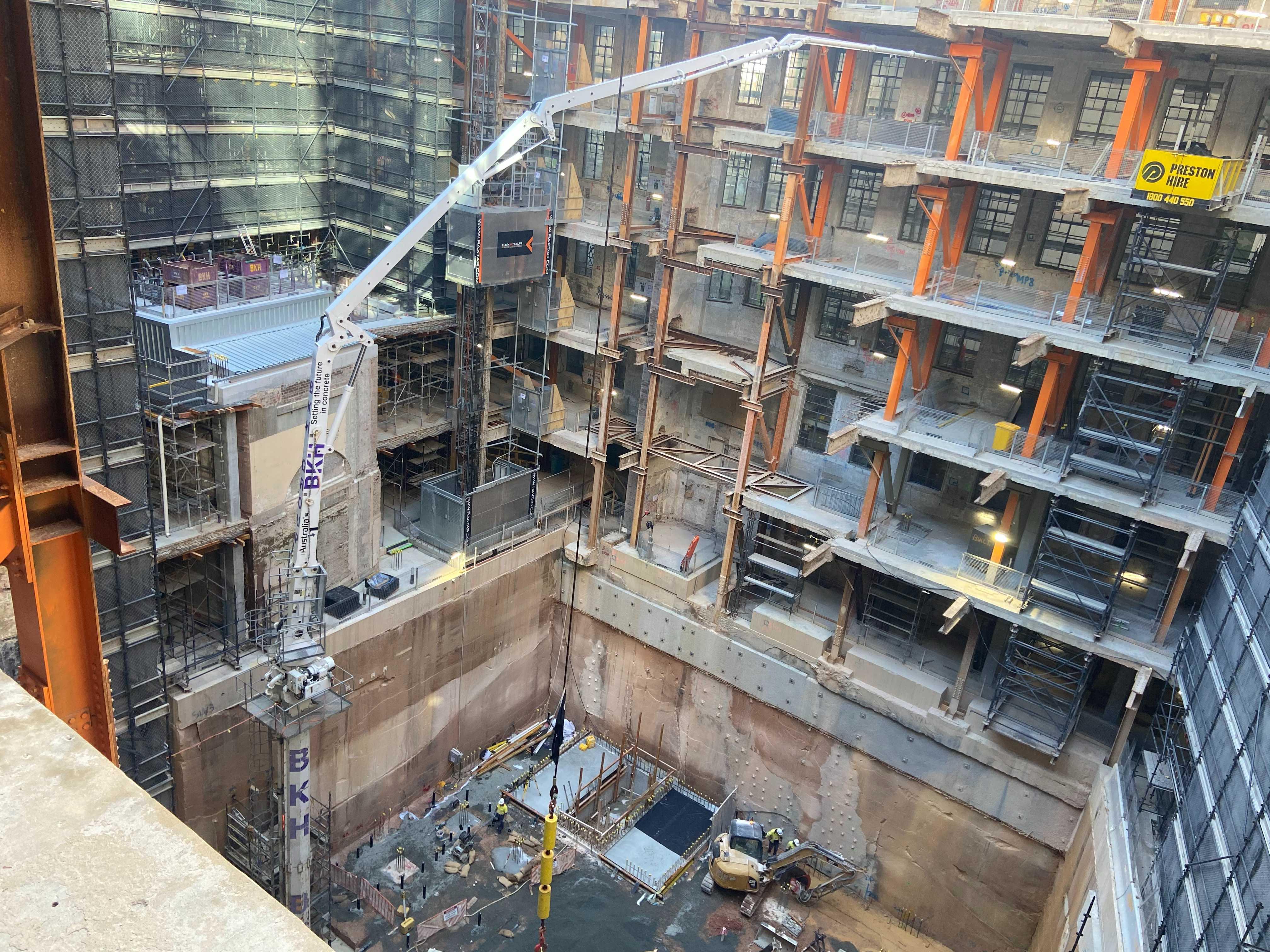 Hire 36 metre Concrete Placing Boom Pumps - Tower Booms