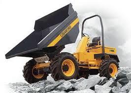 Hire Barford 8 tonne 4x4 swivel site dumper