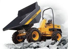Hire Barford sxr3000 6 tonne 4x4 swivel site dumper