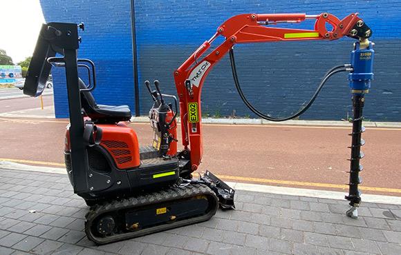 Kubota K008-3 0.7t excavator for dry hire - Karrinyup, Innaloo, Scarborough, Doubleview, Wembley Downs, Woodlands