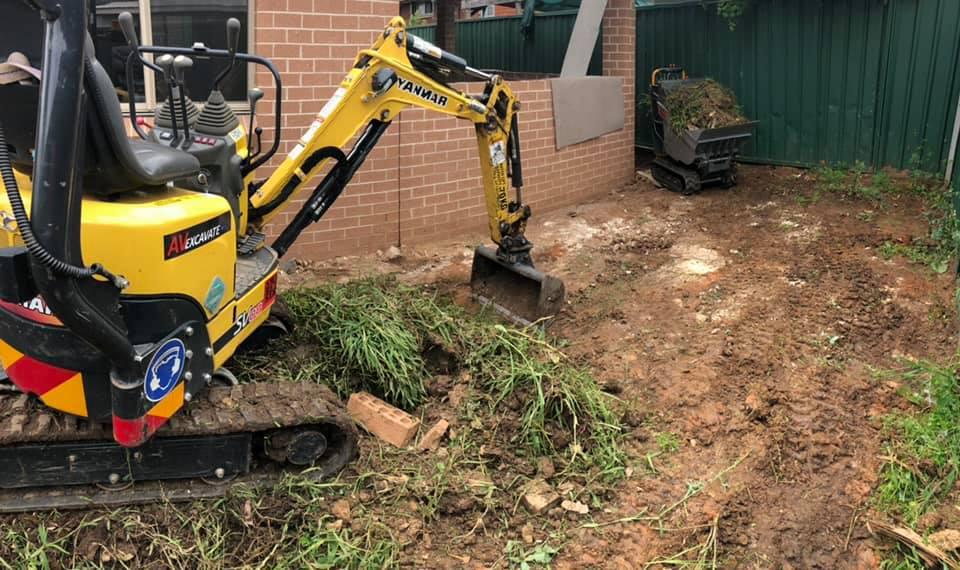 Hire 1 Ton Excavator