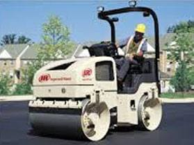 Hire  3.8 tonne smooth drum compaction roller