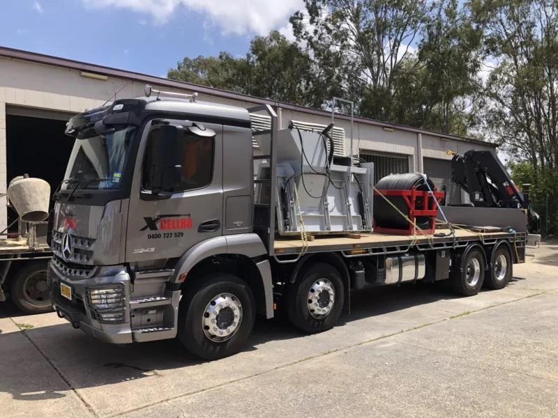 Hire Crane truck near Gold Coast, Brisbane, Toowoomba