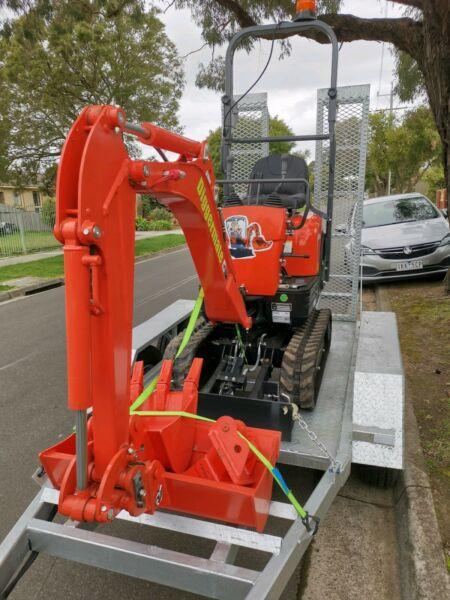 Diggermate Micro Excavator Kubota 1 ton DRY HIRE