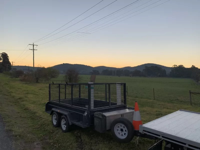 Hire Cage trailer